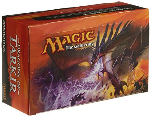 Collectible Trading Card Booster Packs - Magic the Gathering Dragons of Tarkir Booster Box 36 Packs Factory Sealed MTG ** More info could be found at the image url.