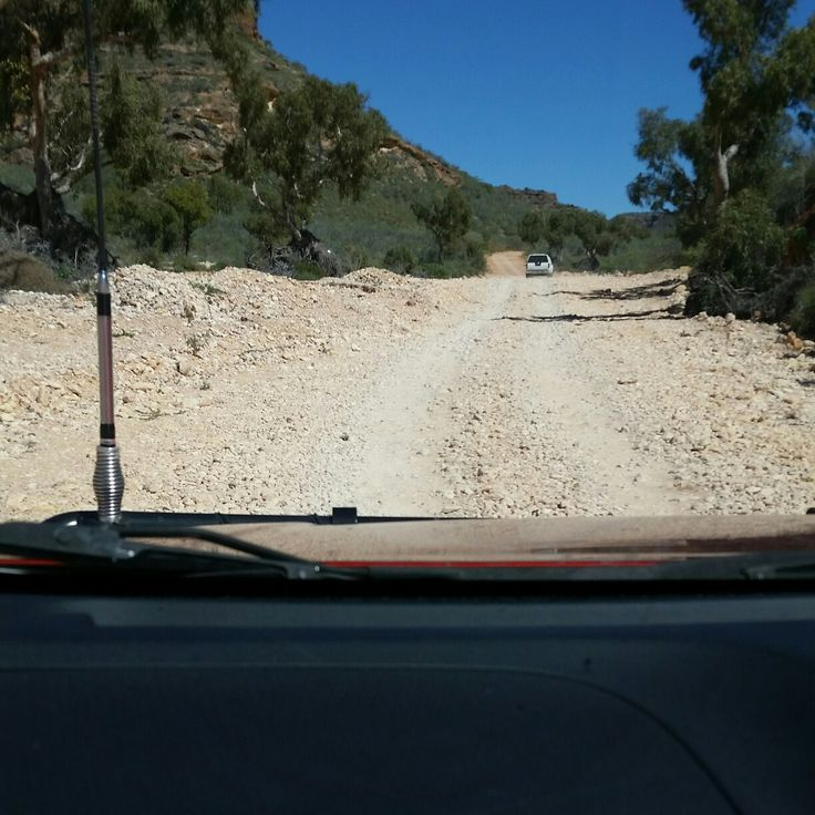 Shothole canyon exmouth Western Australia.  4wd