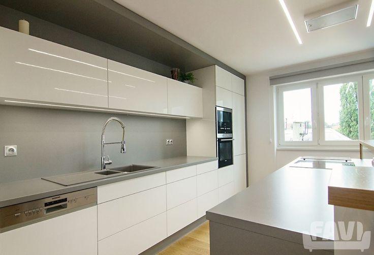 Moderní kuchyně inspirace - Byt v Opavě | Favi.cz