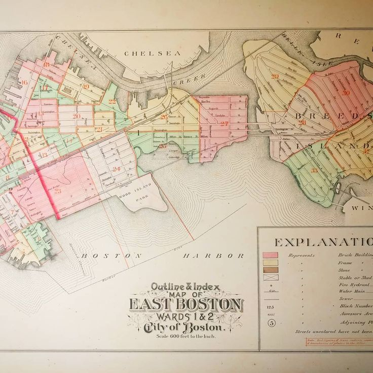 East Boston 1892 maps historic boston eastboston