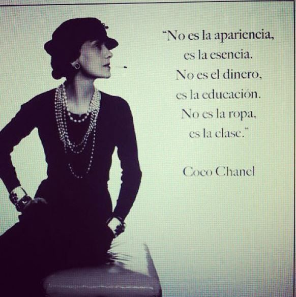 Coco Chanel quotes   Frases   Coco chanel quotes, Chanel ...