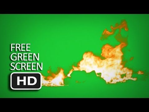 Free Green Screen   Fire Ground On Fire 2
