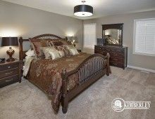 Master suite. Sapphire in Creekwood Chappelle.