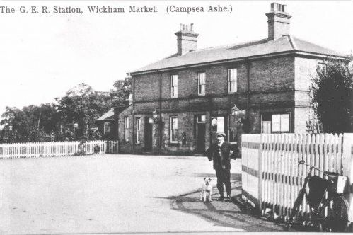 CAMPSEA ASHE | A History of the Railway Station