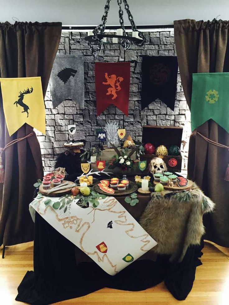 Best 25 medieval party ideas on pinterest for Game of thrones birthday party