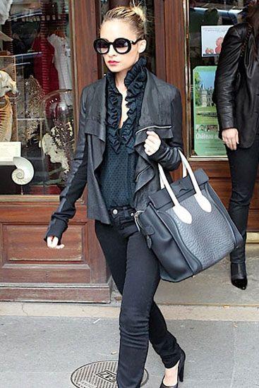 Nicole Richie Celine And Paris Style On Pinterest