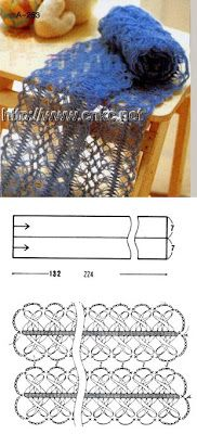 Ideas en Crochet: Puntadas para horquilla