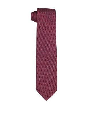 Desanto Men's Jacquard Olimpia Tie, Red