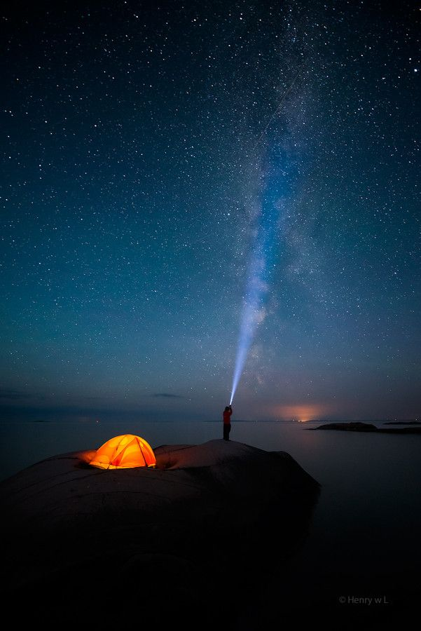 Shooting the Stars by Henry Liu on 500px