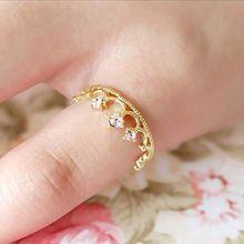 R221 Moda Coroa Anel de Flor Para As Mulheres Jóias Anéis Anillos anel Senhora atacado Acessórios(China (Mainland))