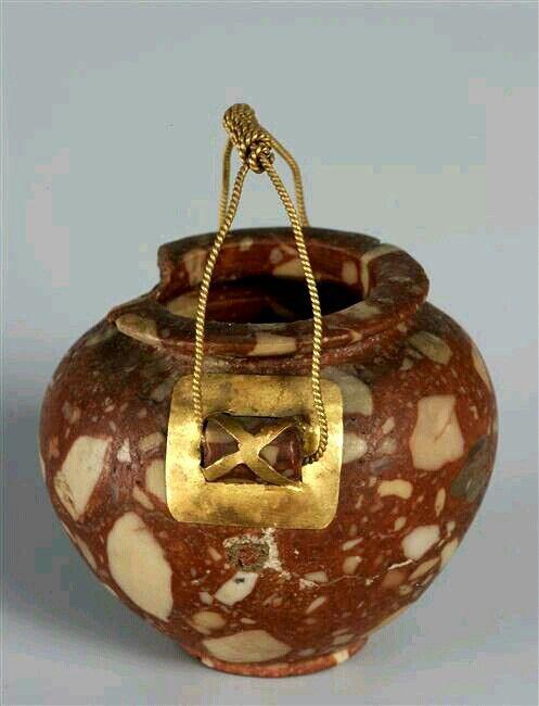 Vase 4th millennium BC. Ancient Egypt - Neolithic - Nagada