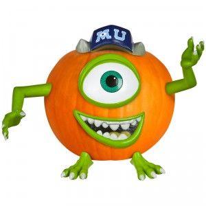 Mike Wazowski Pumpkin Push-Ins