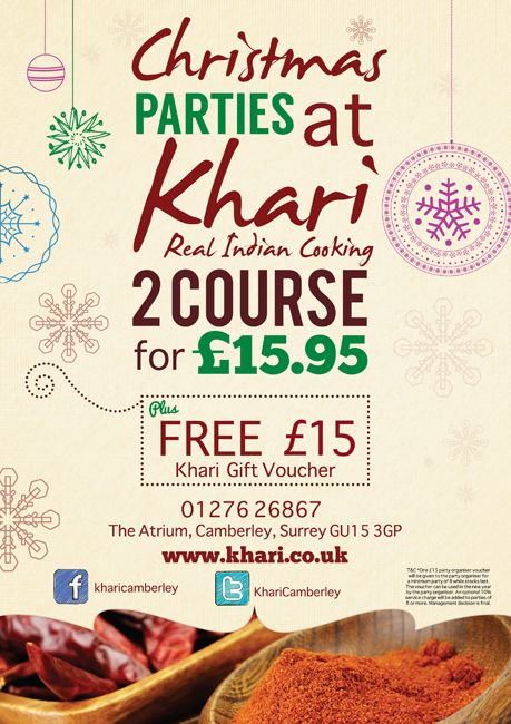 Khari - Christmas poster