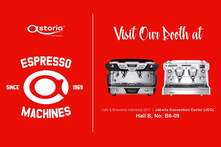 Hi coffee lovers! The most authentic heart of coffee is beating today! So, don't forget to visit our Astoria booth on CBI 2017 at Jakarta Convention Center (JCC).