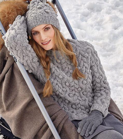 Irina: Sweater.