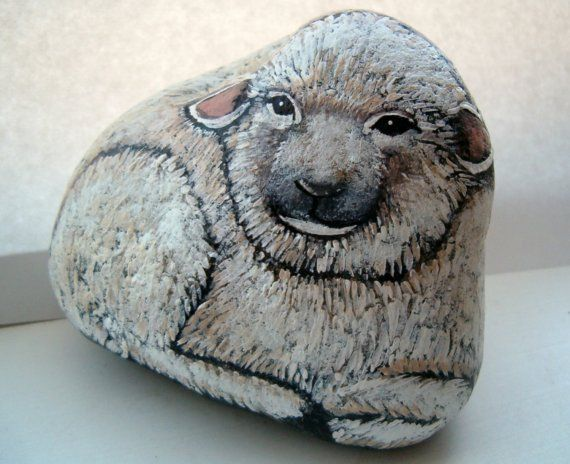 17 Best Images About Pebbles And Stones Sheeps On