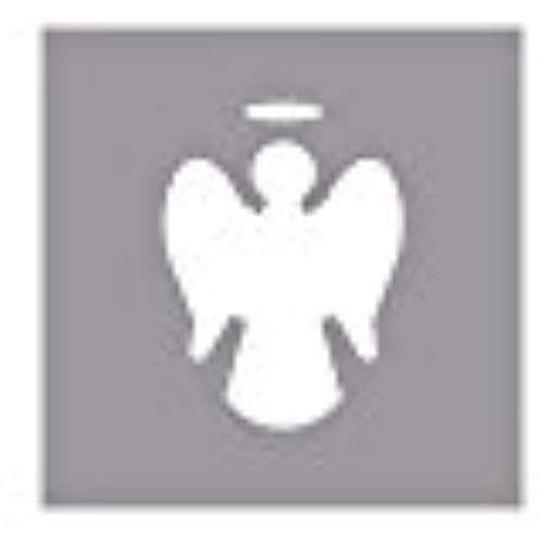 RAYHER - 89795000 - Perforadora de: Ángel, 2,54 cm diámetro, (1), SB-blister 1 pcs
