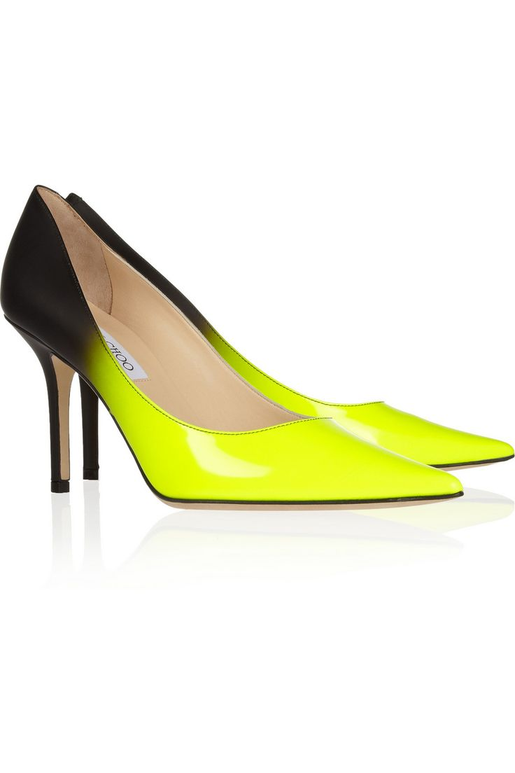 Jimmy Choo | Agnes degradé leather pumps | NET-A-PORTER.COM