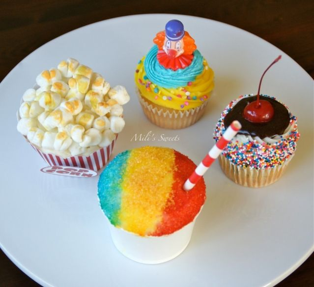 parka jacket cheap colorful first circus cupcakes by Mili  Gavin