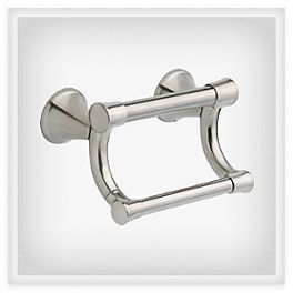 Transitional Toilet Paper Holder with Assist Bar