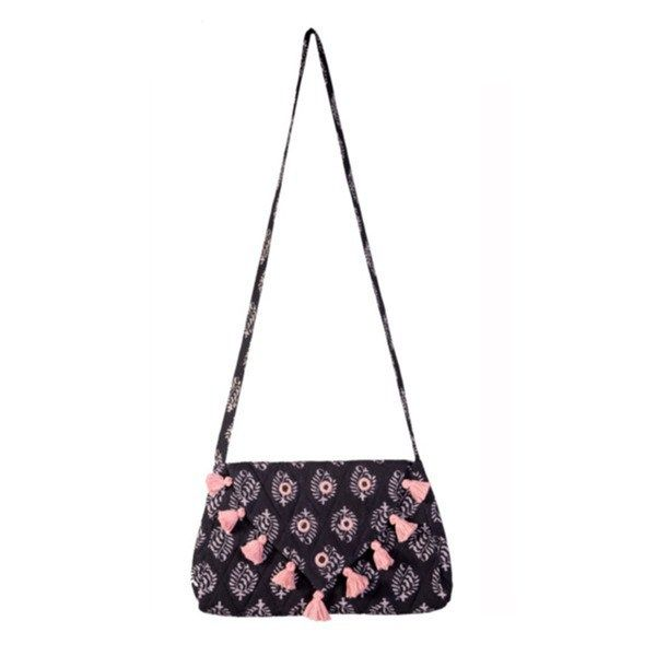 #Black Paisley #Sling Bag