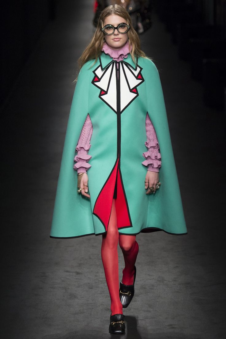 No one blinked at the marc jacobs fashion show when a model wore a - Gucci Fall 2016 Ready To Wear Fashion Show