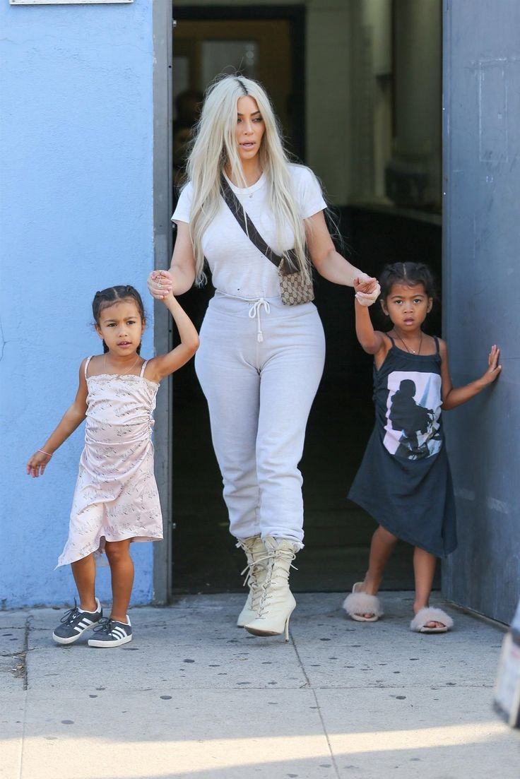 Keeping Up With Kimye — Kim heading to the Iceland Ice Skating Center in...