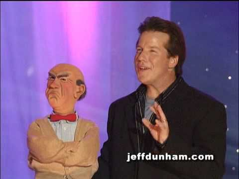 A clip of Jeff Dunham and Walter from Jeff's classic stand-up