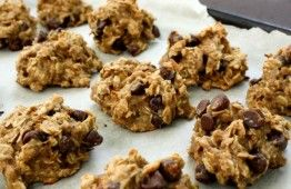 Favorites From The Engine 2 Diet. Just made these Oatmeal, Banana  Peanut Butter cookies and they are pretty good.