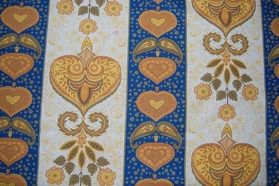 "Chita de Alcobaça.  Typical fabric patterns from Alcobaça, called ""chitas""."
