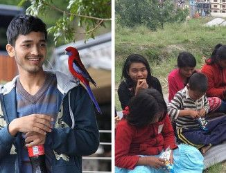 19 ans, il sauve 55 orphelins pendant le tremblement de terre au Népal