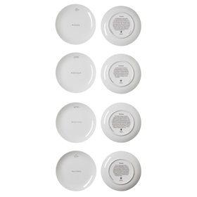 Philosophia plates set/4
