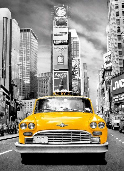 Puzzle Clementoni Platinium Taxi de Nueva York 1000 Piezas