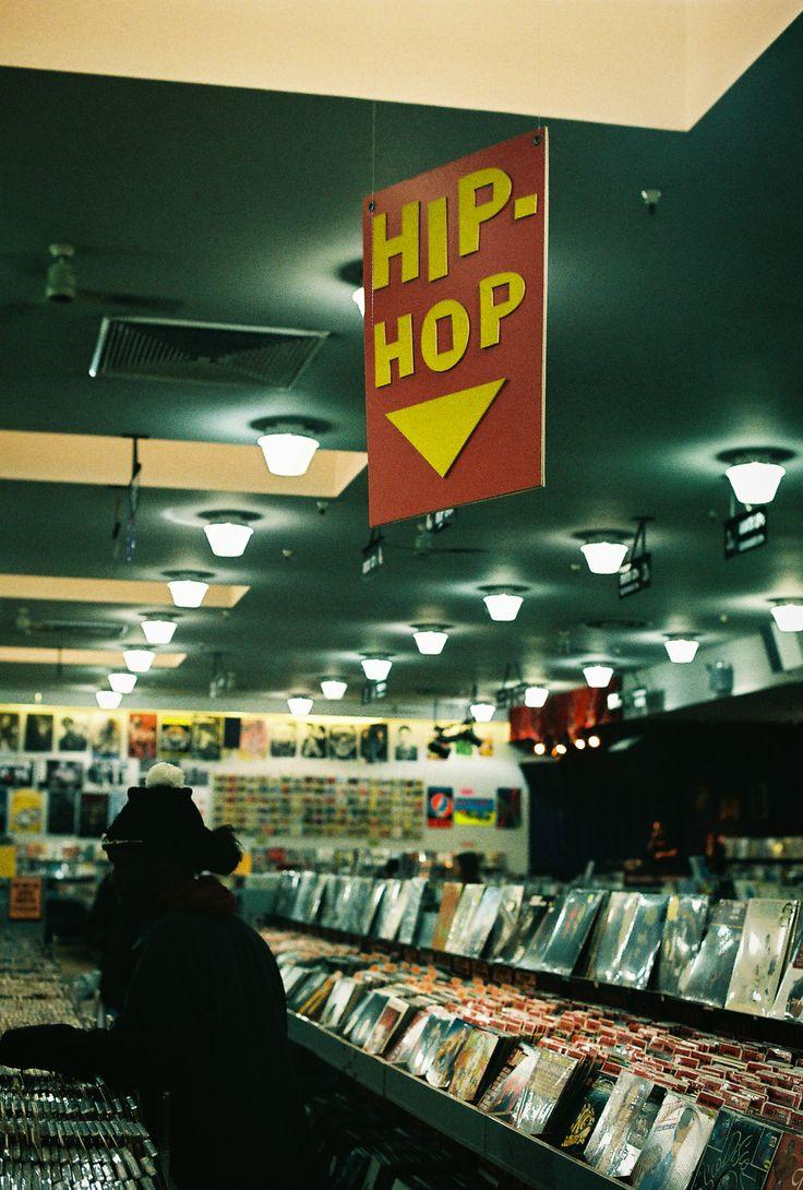 Hip hop section