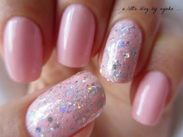 #nails #nailart #pink #OPI #glitters #girly #bubblegum