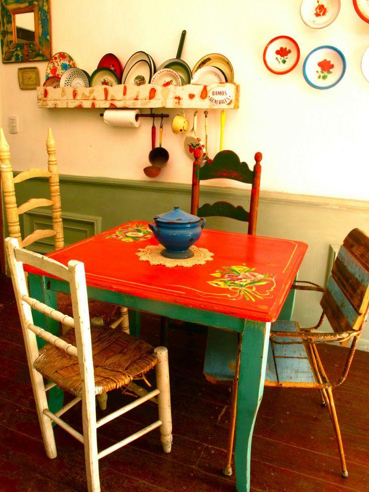 Las vidalas abril 2013 muebles adorables pinterest - Muebles antiguos pintados ...
