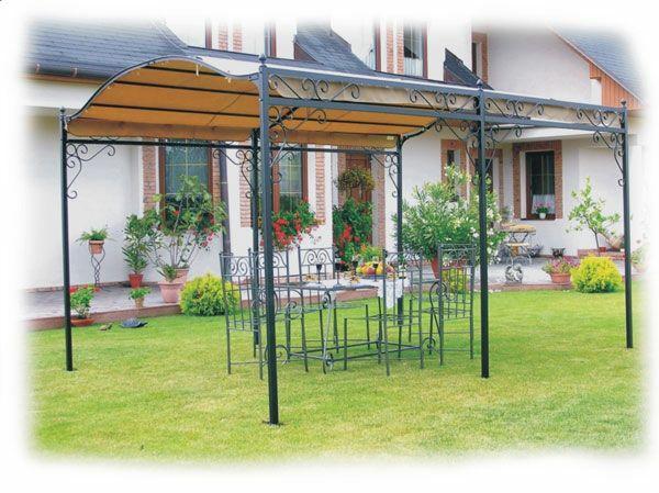 La pergola en fer forgé est une décoration fonctionnelle pour vos jardins - Archzine.fr en 2020 ...