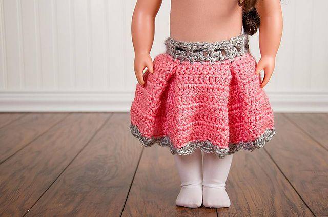 Easy Crochet Doll Skirt Pattern : 17 Best images about Doll Crochet Patterns on Pinterest ...