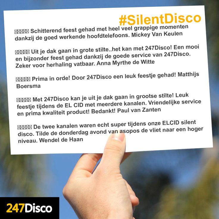 ★★★★☆ Schitterend feest gehad met heel veel grappige momenten dankzij de goed werkende hoofdtelefoons. Mickey Van Keulen