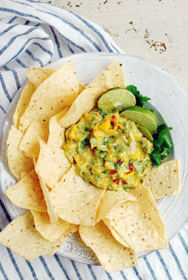 mango guacamole // brooklyn supper