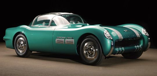 Pontiac Bonneville Special 1954. One of General Motor's Motorama concepts