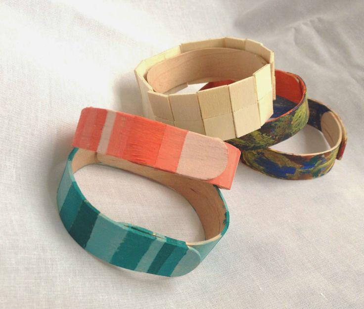 IDEASHOT: Cómo hacer pulseras con palos de paleta.