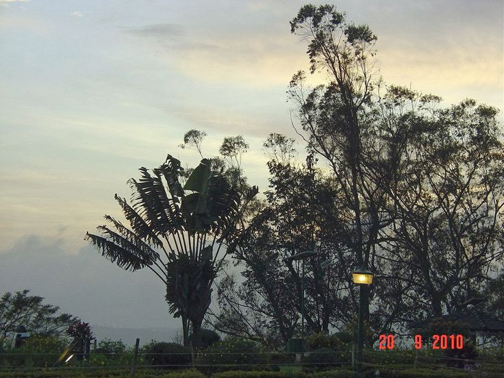Sunset, Madikeri