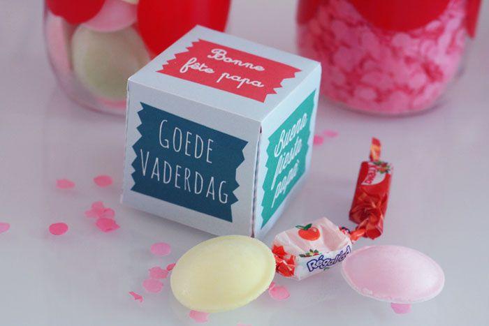 ♥ Printable : une mini box surprise pour le fete des peres ♥ – Fais le toi même