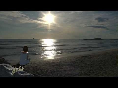 Exercice de cohérence cardiaque sur la plage de la Grande Motte - YouTube