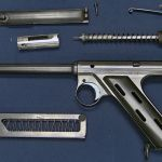 The Caselman Air-Powered Machine Gun is an air gun designed to shoot .30 caliber slugs on full auto with approximately the same muzzle energy asa.32 ACP pistol. It wasdesigned byJeff Caselman in the 1980s as a way for any person to legally own a machine gun, one with enough power for self-defense.In 1990 Jeff sold … Read More …