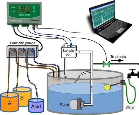 Automated Dosing In Hydroponics Is It For Me Aquaponics