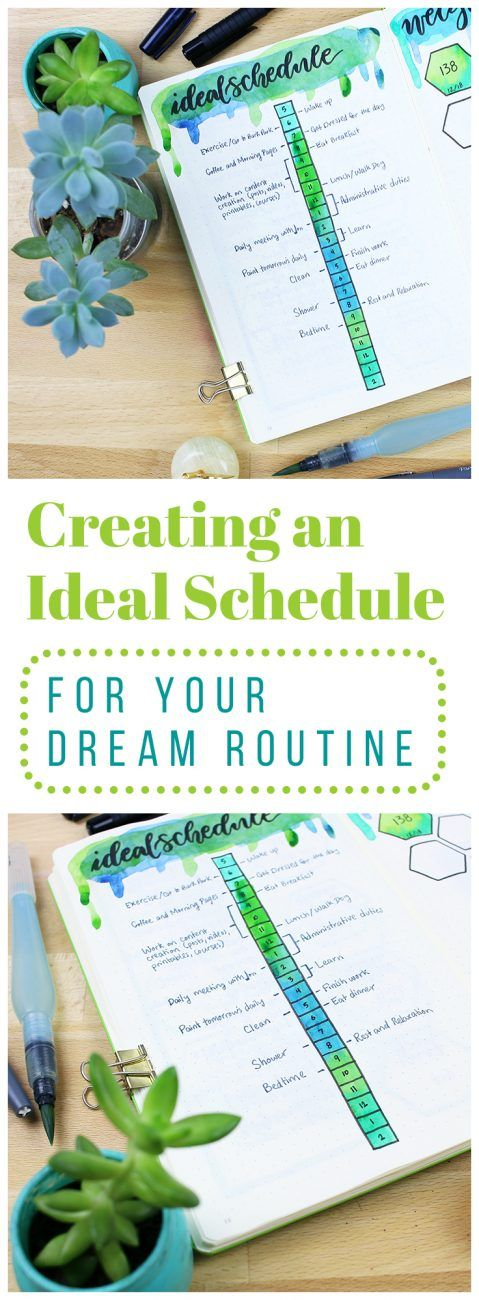 When you're setting your big goals for the months ahead, it's worth it to take a second and change your perspective. Think up your ideal schedule and imagine what that might look like. Then you can take those blueprints and build from the ground up for a fun and effective way to set goals! via @LittleCoffeeFox