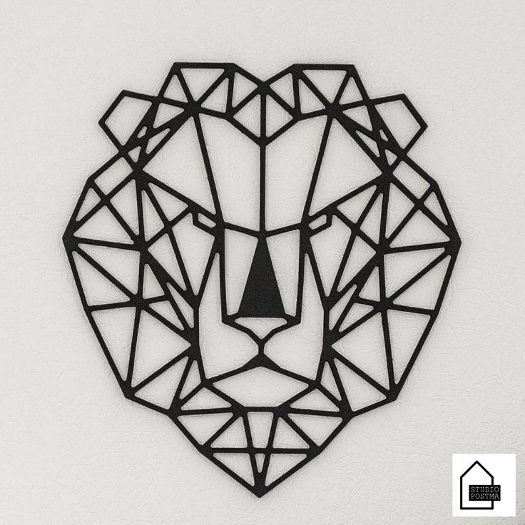 Wil je een mooi element aan je huis of kantoor toevoegen? Je kunt deze leeuw gebruiken als kunstwerk of eenvoudig ophangen als wanddecoratie. Dit kunstwerk is verkrijgbaar in diverse formaten. Ontwerp StudioPostma