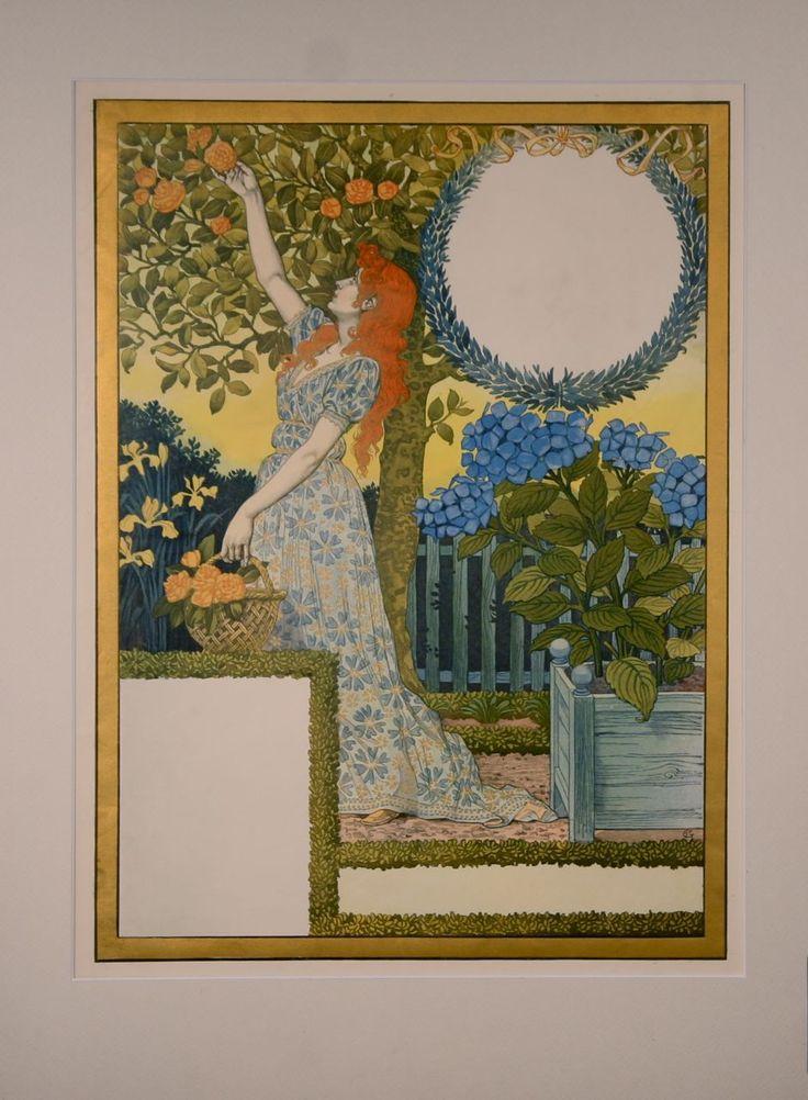 La Belle Jardiniere Calendar